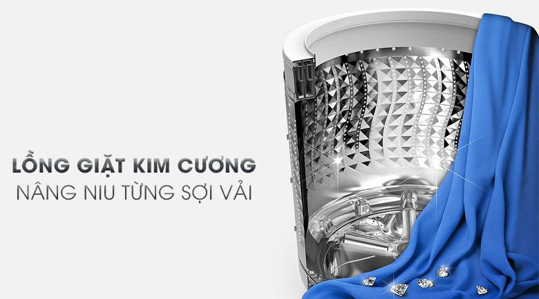 Lồng giặt kim cương - Máy giặt Samsung Inverter 14 kg WA14N6780CV/SV