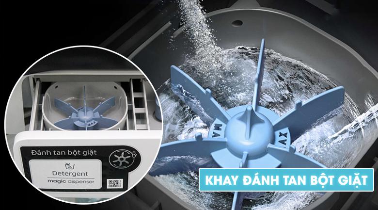 Hộp đánh tan bột giặt Magic Dispenser - Máy giặt Samsung Inverter 14 kg WA14N6780CV/SV
