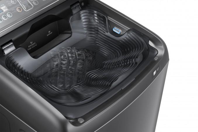 Khay giặt tay - Máy giặt Samsung Inverter 14 kg WA14N6780CV/SV