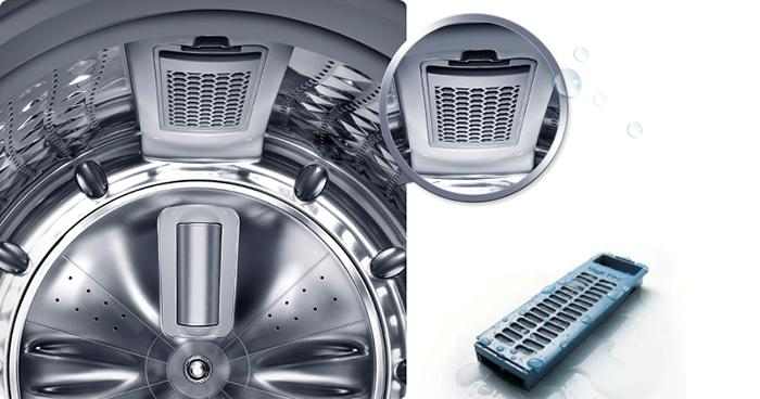 Bộ lọc xơ vải - Máy giặt Samsung Inverter 14 kg WA14N6780CV/SV