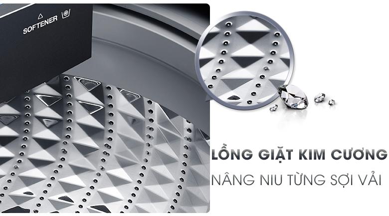 Lồng giặt kim cương - Máy giặt Samsung Inverter 16 kg WA16N6780CV/SV