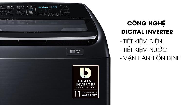 Công nghệ Digital Inverter - Máy giặt Samsung Inverter 16 kg WA16N6780CV/SV