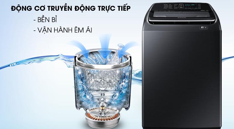 Động cơ truyền động trực tiếp - Máy giặt Samsung Inverter 16 kg WA16N6780CV/SV