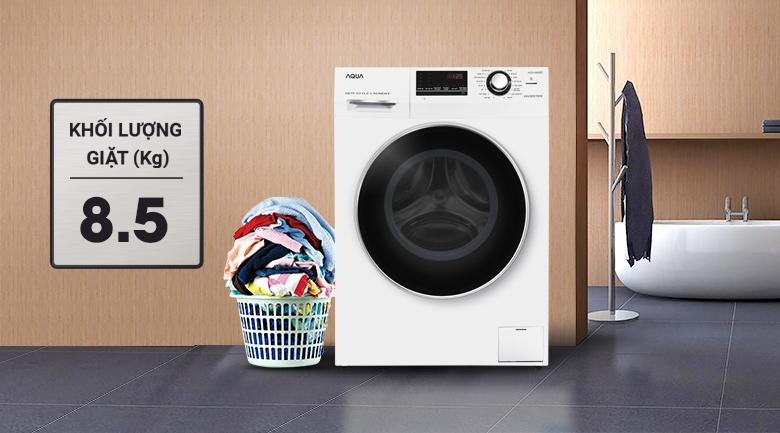 Máy giặt Aqua Inverter 8.5 kg AQD-A852ZT (W)
