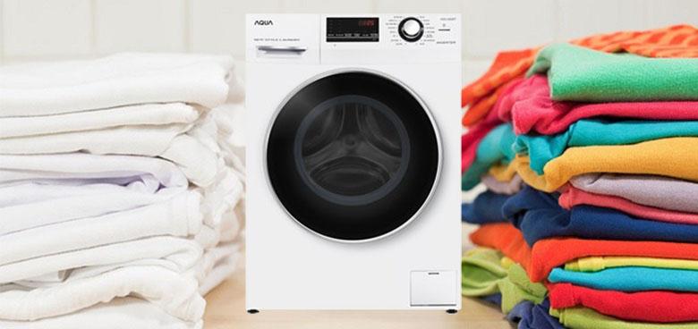 16 chương trình giặt phù hợp nhiều loại vải - Máy giặt Aqua Inverter 8.5 kg AQD-A852ZT (W)