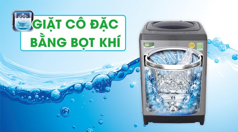 Công nghệ giặt cô đặc bằng bọt khí - Máy giặt Toshiba 9 Kg AW-H1000GV SB