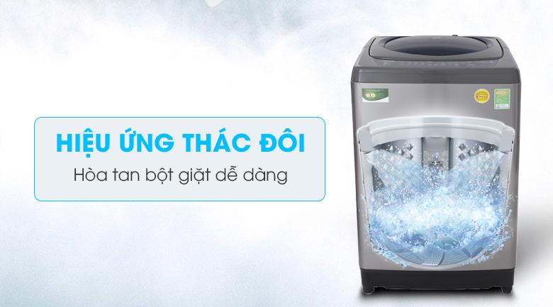 Hiệu ứng thác nước đôi - Máy giặt Toshiba 9 Kg AW-H1000GV SB