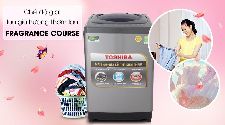 Fragrance Course - Máy giặt Toshiba 9 Kg AW-H1000GV SB