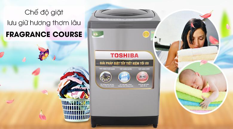Tính năng lưu giữ hương thơm Fragrance Course - Máy giặt Toshiba 10 Kg AW-H1100GV SM