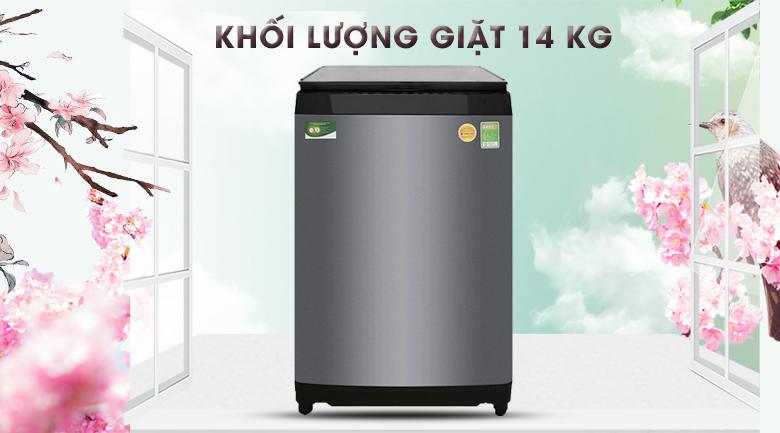 Khối lượng 14 kg - Máy giặt Toshiba Inverter 14 kg AW-DUG1500WV KK