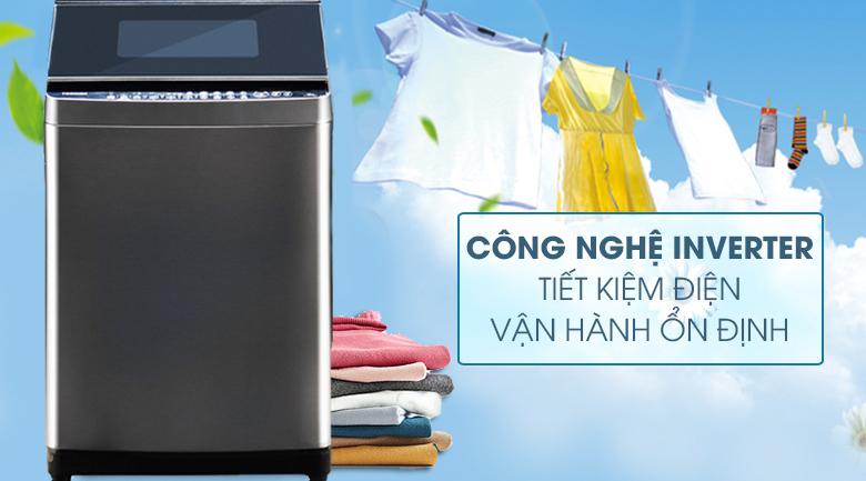 Công nghệ Inverter - Máy giặt Toshiba Inverter 14 kg AW-DUG1500WV KK
