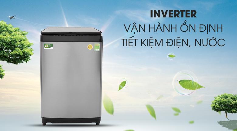 Công nghệ Inverter - Máy giặt Toshiba Inverter 15 kg AW-DUG1600WV SK