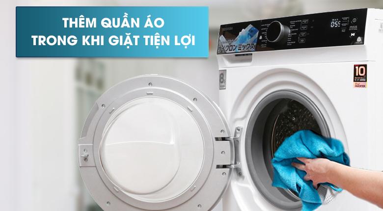 Thêm quần áo - Máy giặt Toshiba Inverter 8.5 kg TW-BH95M4V