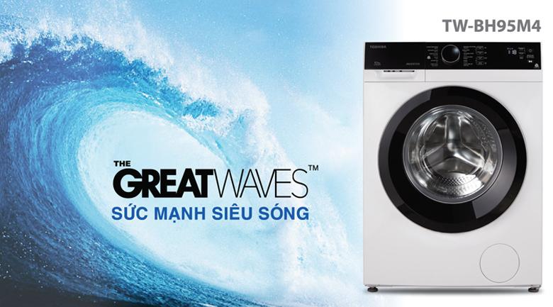 Greatwave - Máy giặt Toshiba Inverter 8.5 kg TW-BH95M4V
