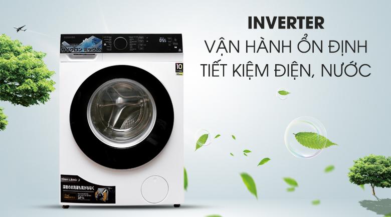 Công nghệ Inverter - Máy giặt Toshiba Inverter 9.5 kg TW-BH105M4V