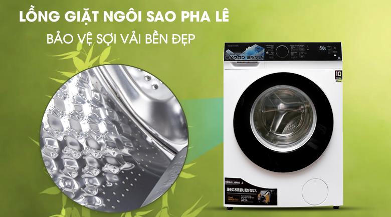 Lồng giặt ngôi sao pha lê - Máy giặt Toshiba Inverter 9.5 kg TW-BH105M4V