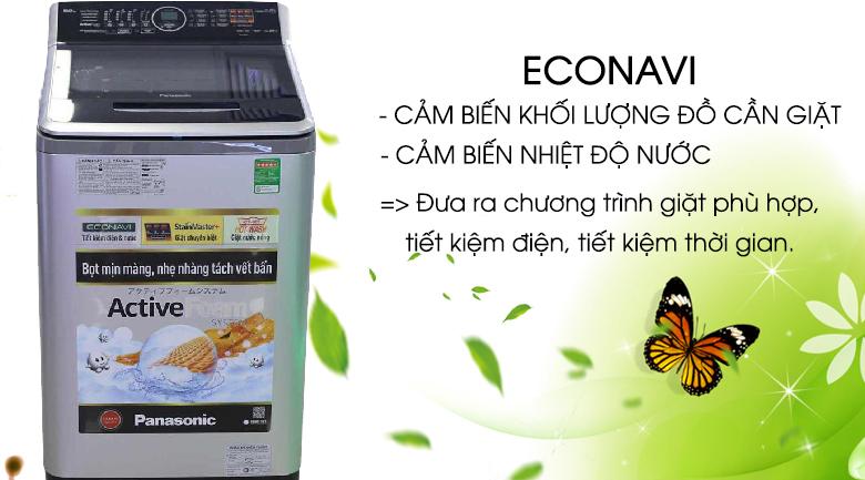 Cảm biến Econavi - Máy giặt 10 kg Panasonic NA-FS10V7LRV