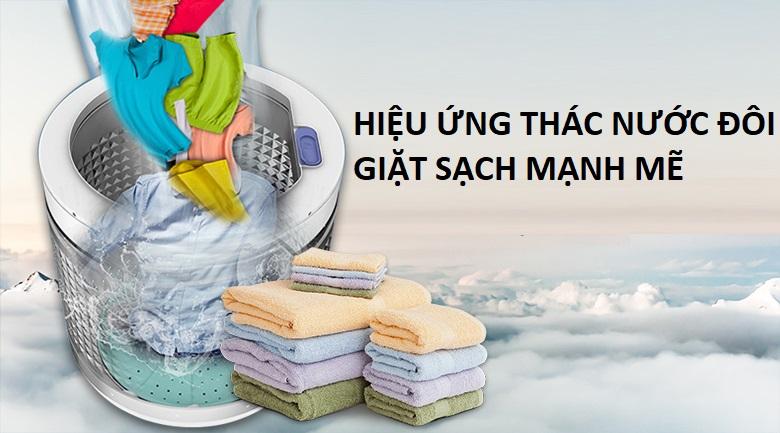 Thác nước đôi - Máy giặt Panasonic Inverter 9.5 kg NA-FS95V7LMX