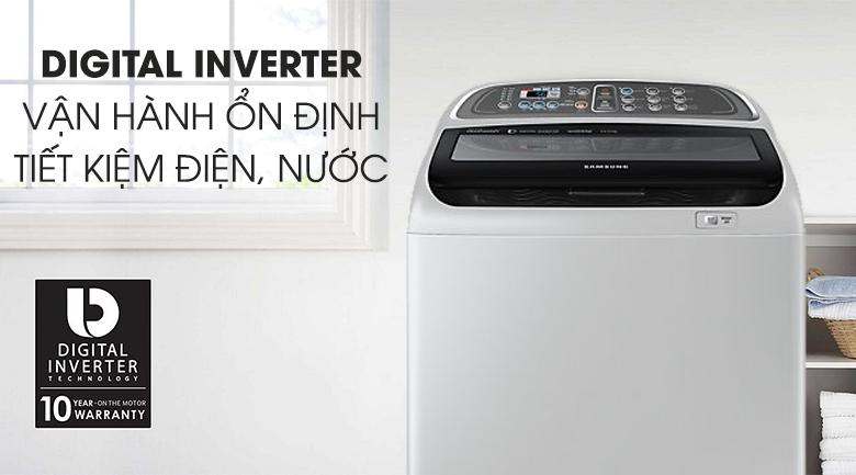 Công nghệ Inverter - Máy giặt Samsung Inverter 10.5 kg WA10J5750SG/SV