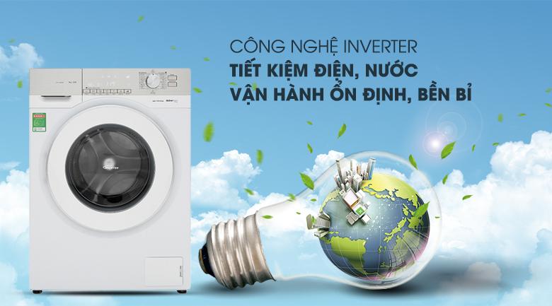 Công nghệ Inverter - Máy giặt Panasonic Inverter 9 Kg NA-129VG6WV2