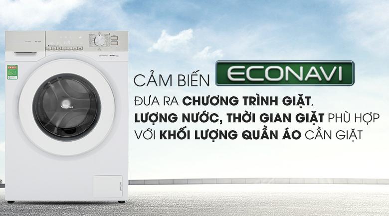 Cảm biến Econavi - Máy giặt Panasonic Inverter 9 Kg NA-129VG6WV2