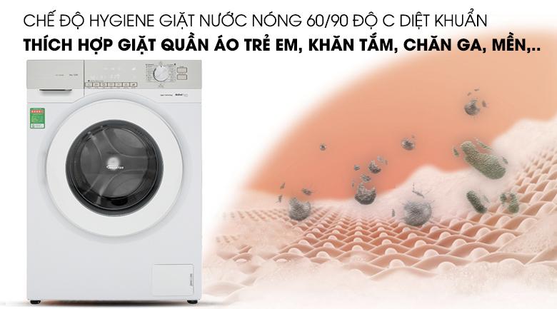 Giặt nước nóng - Máy giặt Panasonic Inverter 9 Kg NA-129VG6WV2