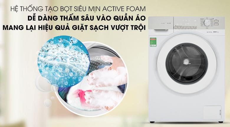 Hệ thống ActiveFoam - Máy giặt Panasonic Inverter 9 Kg NA-129VG6WV2