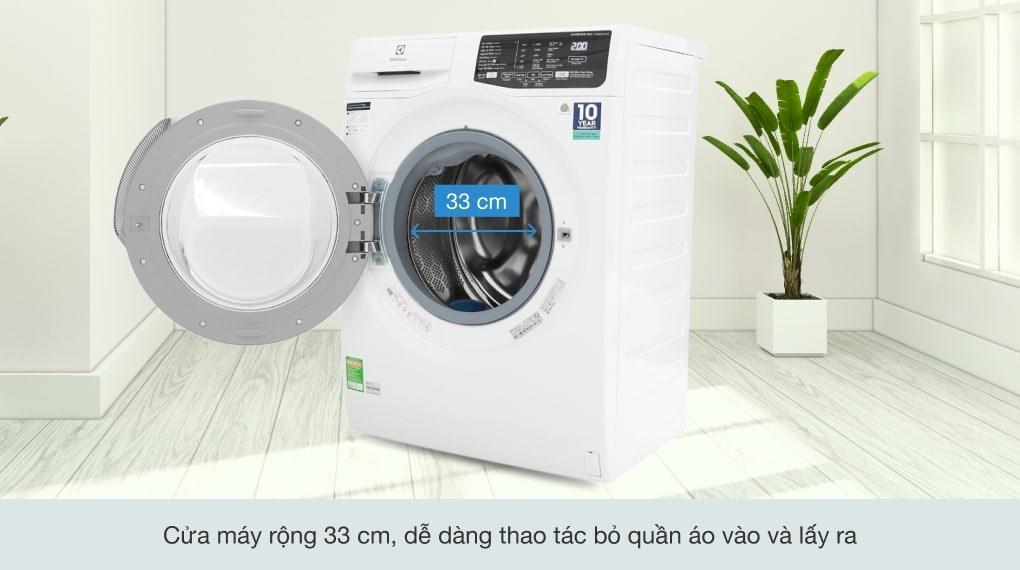 Công nghệ Inverter - Máy giặt Electrolux Inverter 8 kg EWF8025CQWA