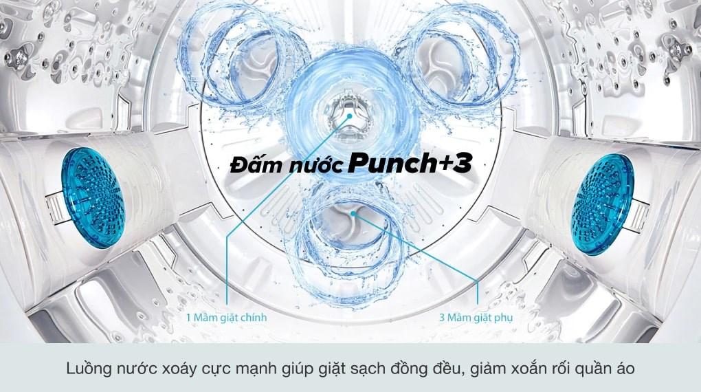 Khối lượng giặt 9 kg - Máy giặt LG Inverter 9 Kg T2309VS2M