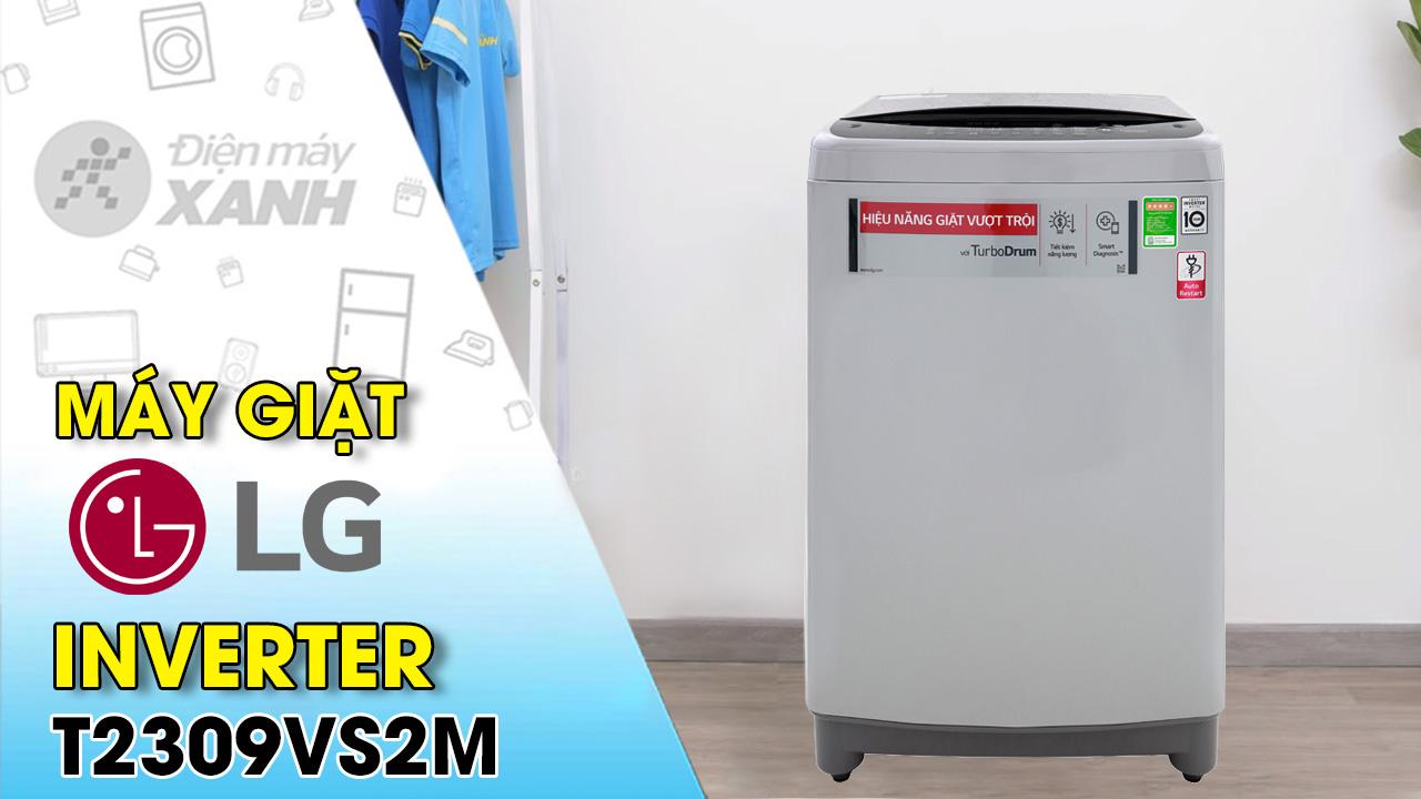 Máy giặt LG Inverter 9 Kg T2309VS2M