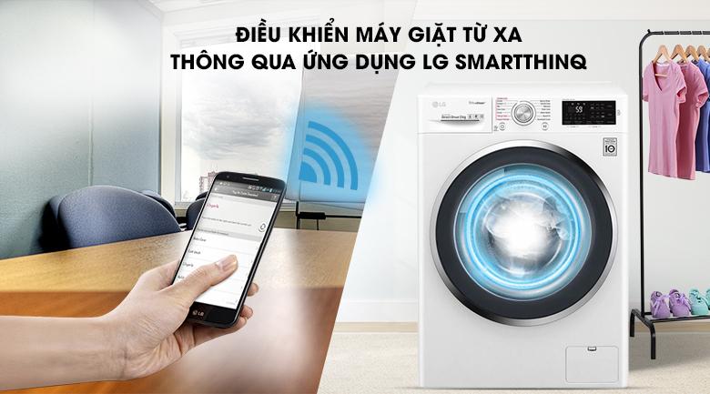 Chẩn đoán thông minh - Máy giặt LG Inverter 8 Kg FC1408S4W3