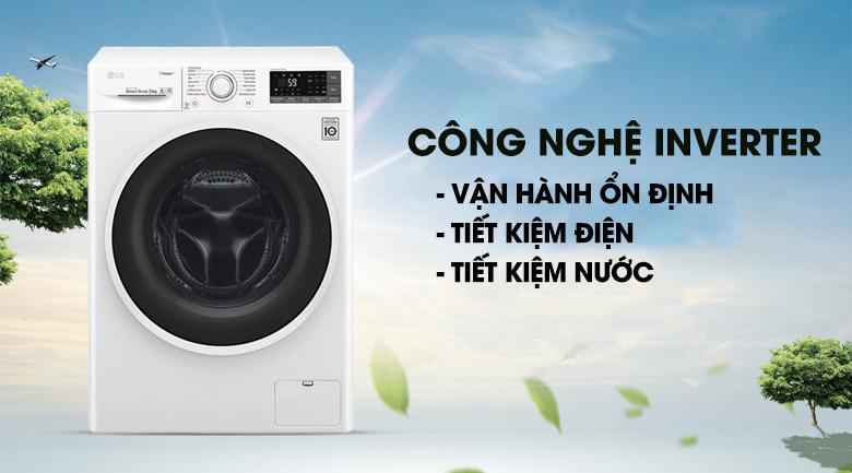 Công nghệ Inverter - Máy giặt LG Inverter 9 kg FC1409S3W1
