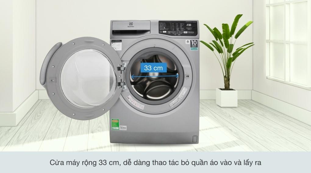 Giặt hơi nước - Máy giặt Electrolux Inverter 8 kg EWF8025CQSA