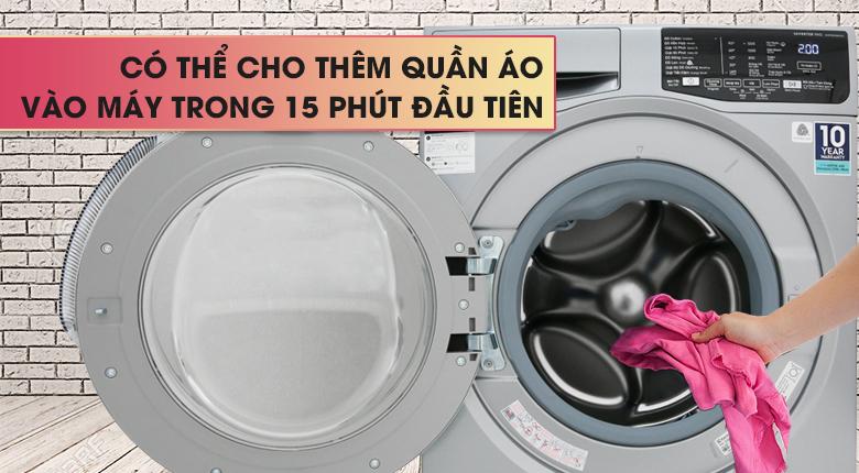 Chức năng Add Cloths - Máy giặt Electrolux Inverter 9 Kg EWF9025BQSA