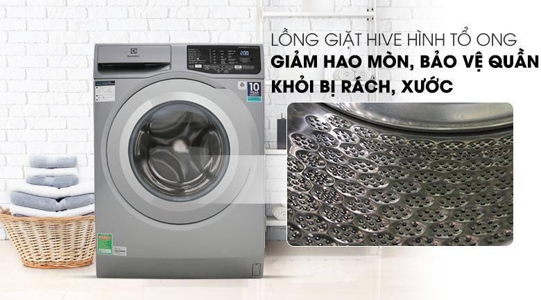 Lồng giặt HIVE - Máy giặt Electrolux Inverter 9 Kg EWF9025BQSA