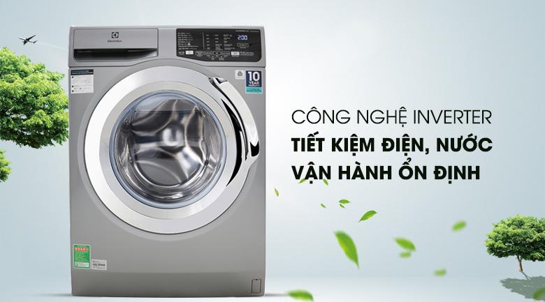 Máy giặt Electrolux Inverter 9 Kg EWF9025BQSA - Công nghệ Inverter