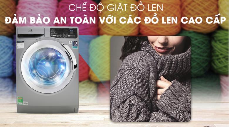 Máy giặt Electrolux Inverter 9 Kg EWF9025BQSA - Chế độ giặt đồ len