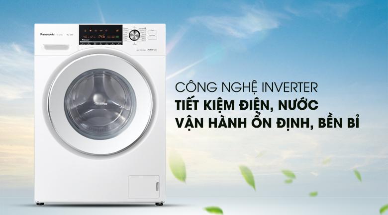 Công nghệ Inverter - Máy giặt Panasonic Inverter 8 Kg NA-128VG6WV2