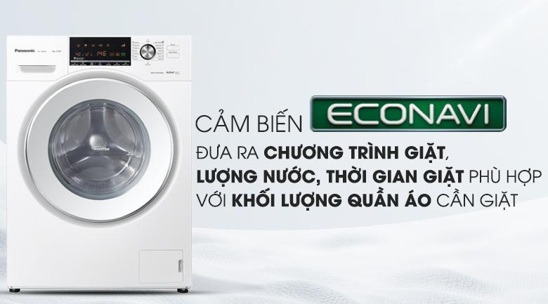Cảm biến Econavi - Máy giặt Panasonic Inverter 8 Kg NA-128VG6WV2