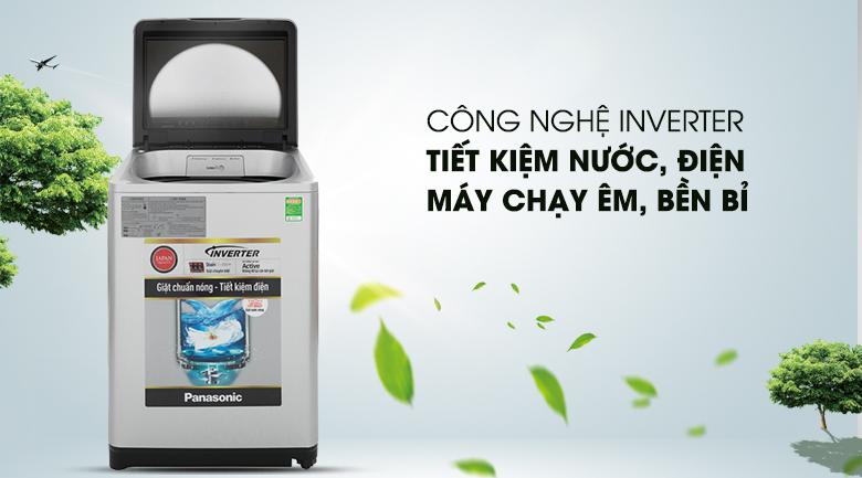 Công nghệ Inverter - Máy giặt Panasonic Inverter 11.5 Kg NA-FS11V7LRV