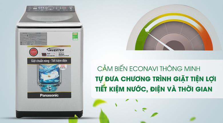 Cảm biến Econavi - Máy giặt Panasonic Inverter 11.5 Kg NA-FS11V7LRV