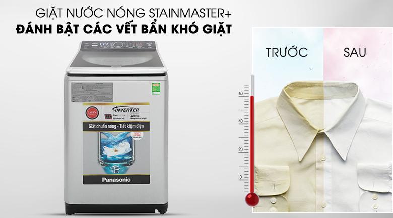 Giặt nước nóng - Máy giặt Panasonic Inverter 11.5 Kg NA-FS11V7LRV
