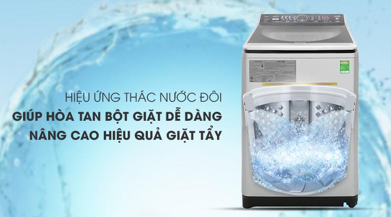 Thác nước đôi - Máy giặt Panasonic Inverter 11.5 Kg NA-FS11V7LRV