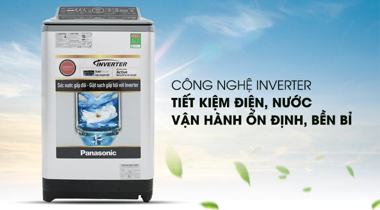 Công nghệ Inverter - Máy giặt Panasonic Inverter 9.5 Kg NA-FS95X7LRV