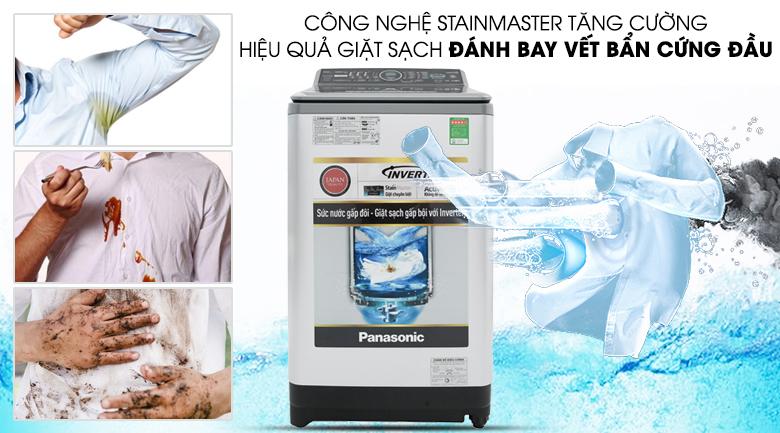 Công nghệ StainMaster - Máy giặt Panasonic Inverter 9.5 Kg NA-FS95X7LRV