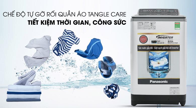 Chế độ tự động gỡ rối Tangle Care - Máy giặt Panasonic Inverter 9.5 Kg NA-FS95X7LRV