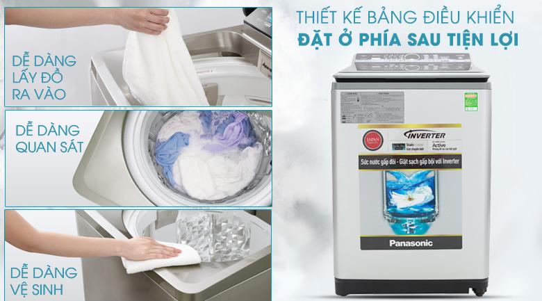 Máy giặt Panasonic Inverter 11.5 Kg NA-FS11X7LRV