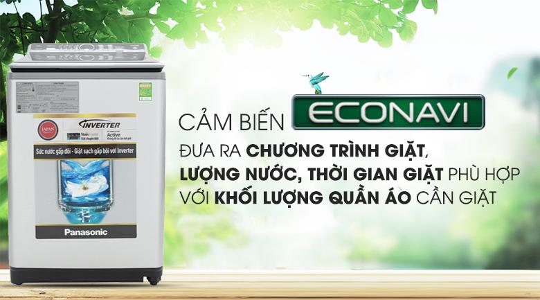 Cảm biến Econavi - Máy giặt Panasonic Inverter 11.5 Kg NA-FS11X7LRV
