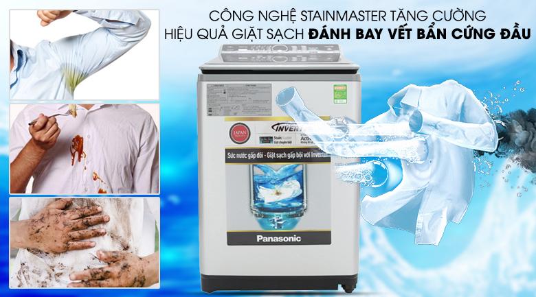 Công nghệ giặt StainMaster - Máy giặt Panasonic Inverter 11.5 Kg NA-FS11X7LRV