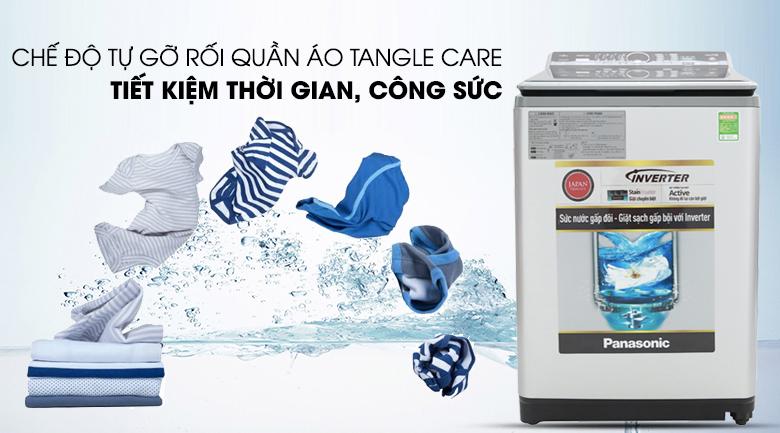 Chế độ tự động gỡ rối Tangle Care - Máy giặt Panasonic Inverter 11.5 Kg NA-FS11X7LRV